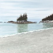 Calm Sandy Beach