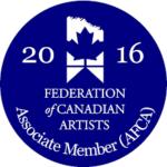 Federation of Canadian Artists Emblem