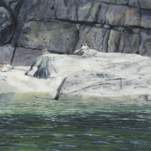 Merganser Rock