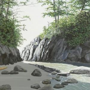 Calvert Island Islet