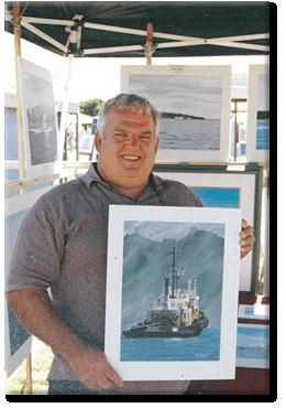 Dan Telosky Marine Artist, Campbell River, BC