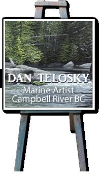 Dan Telosky Marine Artist