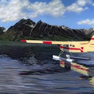Beaver at Chilco Lake