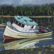 Old fish boat