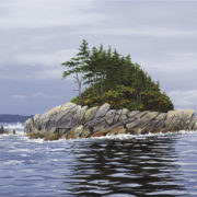 Miles Inlet in Central Coast area of BC