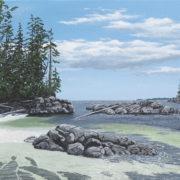 Central Coast Secret Beach, Near Fury Cove